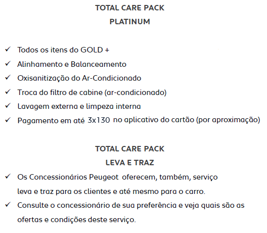 Total Care Pack Platinum