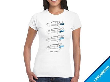 Camiseta Branca Feminina Generations